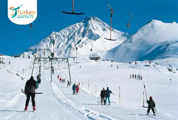 أجمل الأماكن للتزلج في تركيا