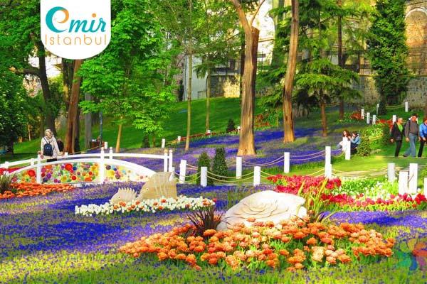 أجمل الحدائق في اسطنبول